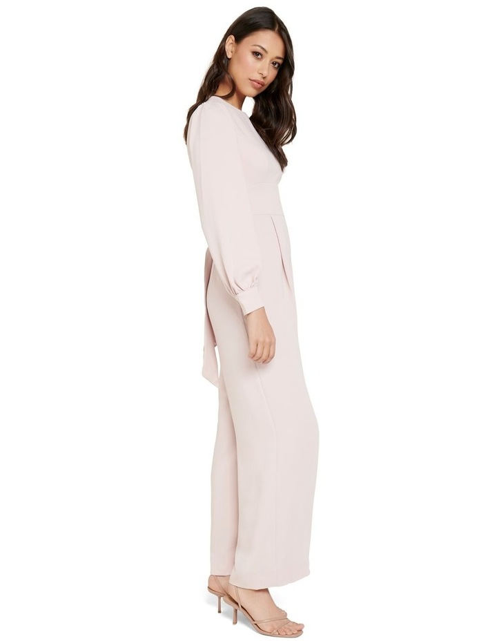 Lucille Long Sleeve Bow Back Jumpsuit image 2