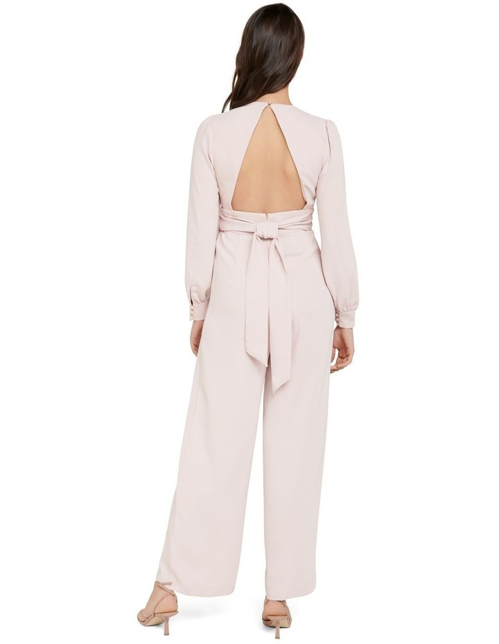 Lucille Long Sleeve Bow Back Jumpsuit image 3