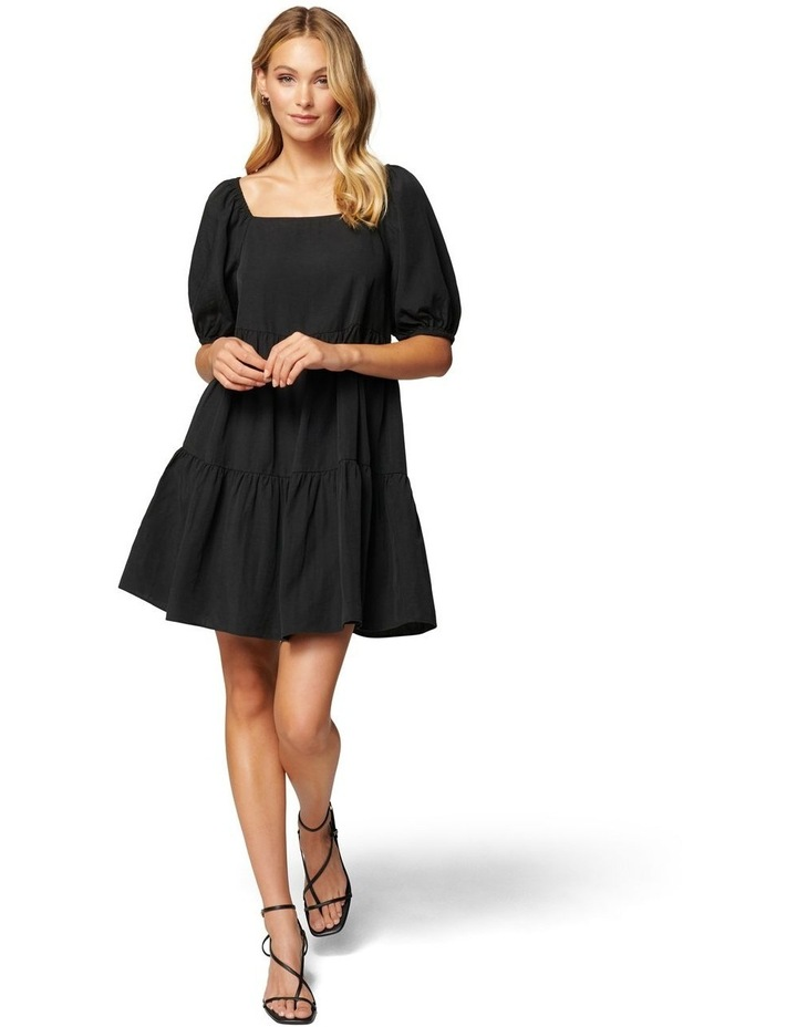 Sandra Square Neck Smock Dress image 5