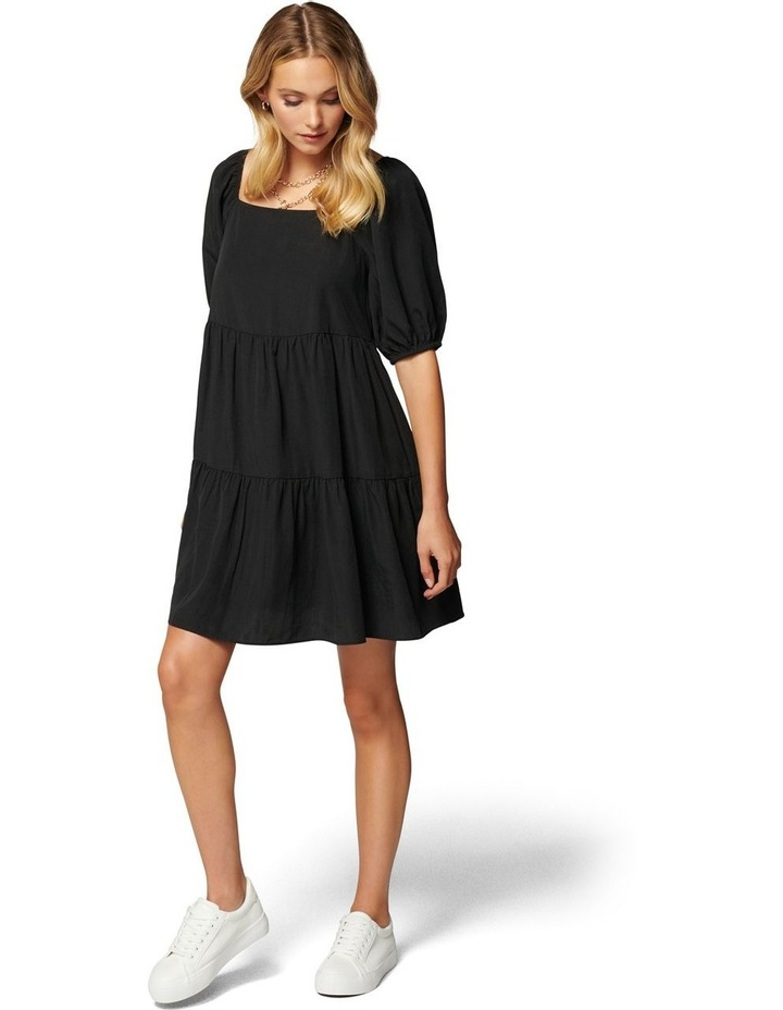 Sandra Square Neck Smock Dress image 6