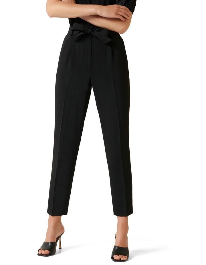 Sadie Tie Waist Slim Pants image 1