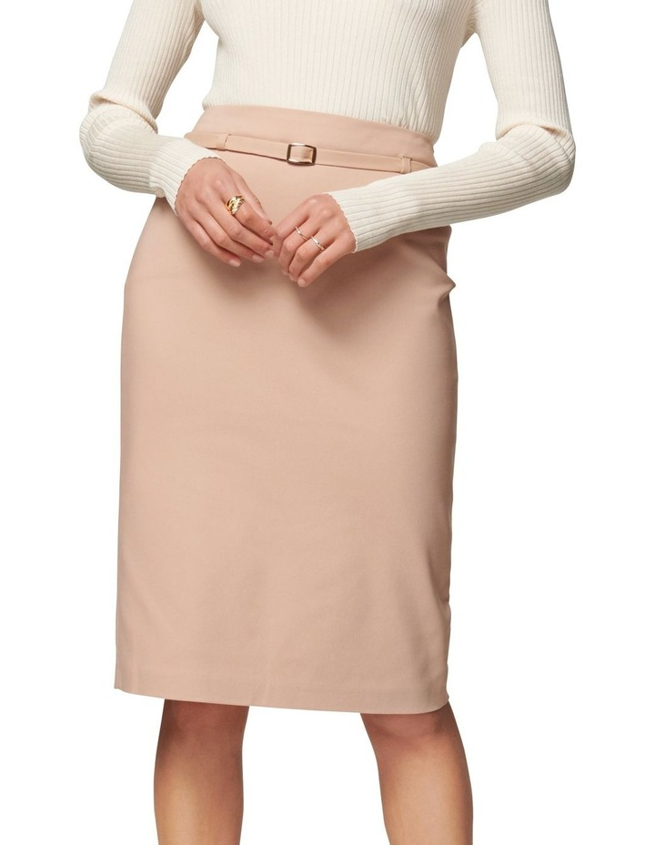 Nadia Belted Pencil Skirt image 1
