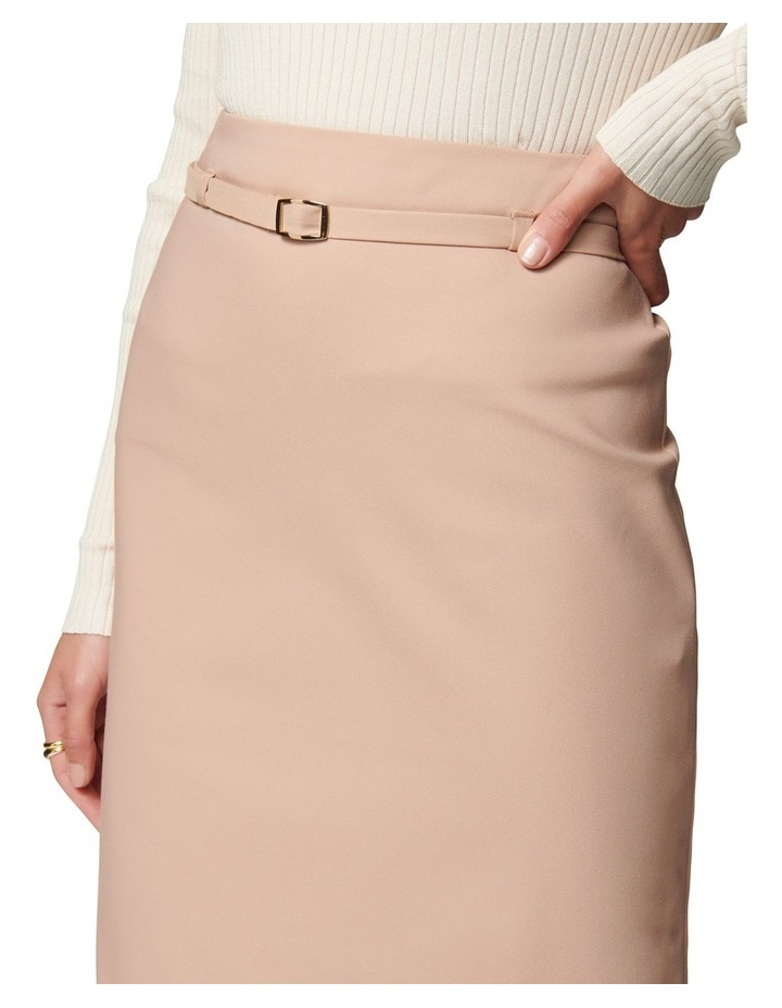 Nadia Belted Pencil Skirt image 2