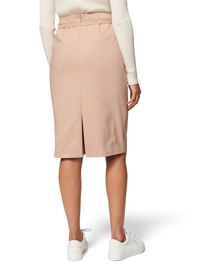 Nadia Belted Pencil Skirt image 4