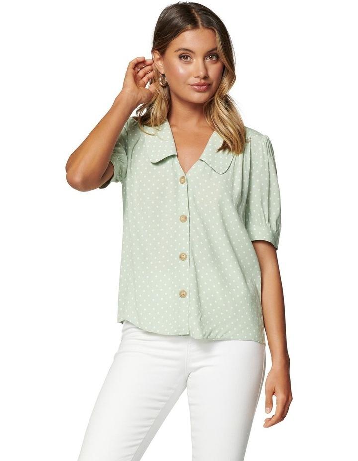Melinda Button Through Collar Blouse image 1