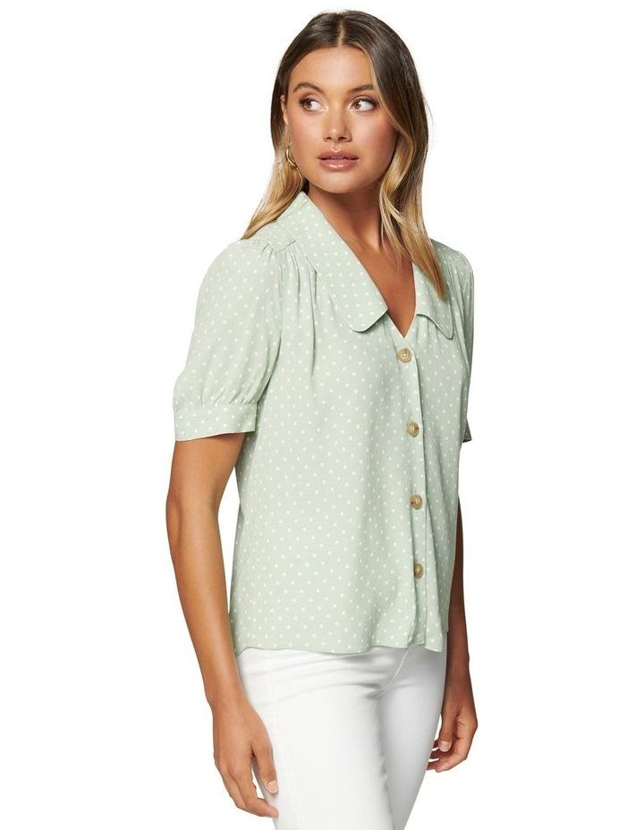 Melinda Button Through Collar Blouse image 2