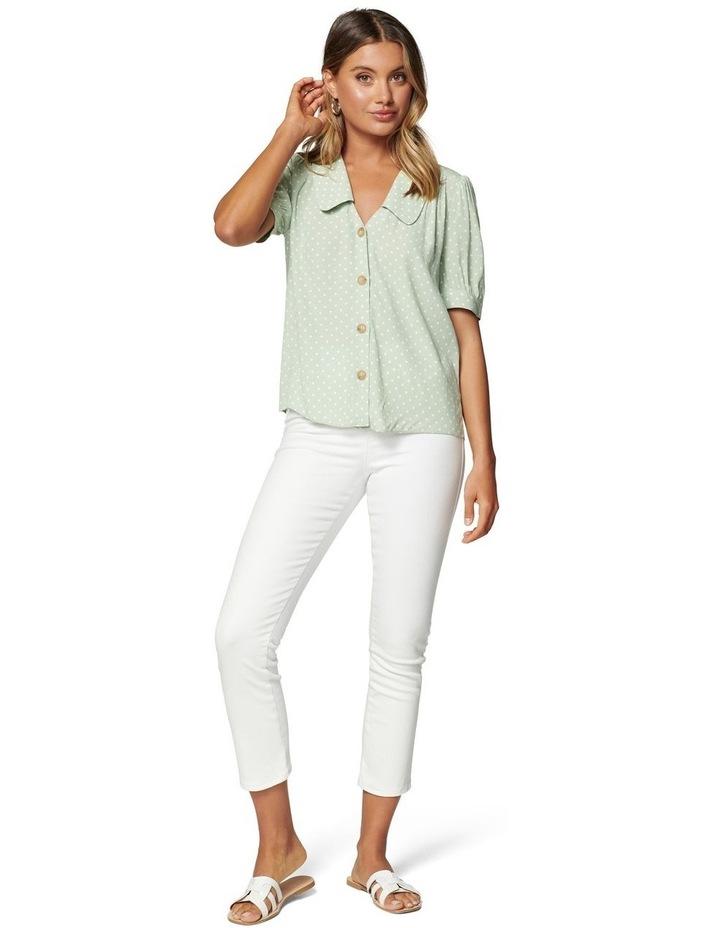 Melinda Button Through Collar Blouse image 3