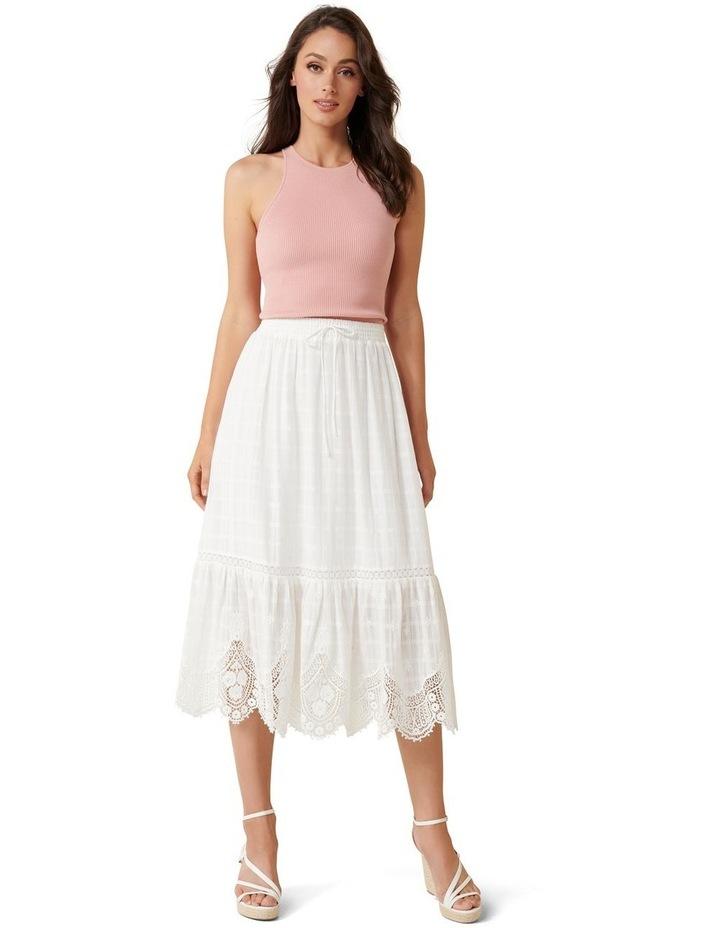 Willow Scallop Hem Midi Skirt image 4