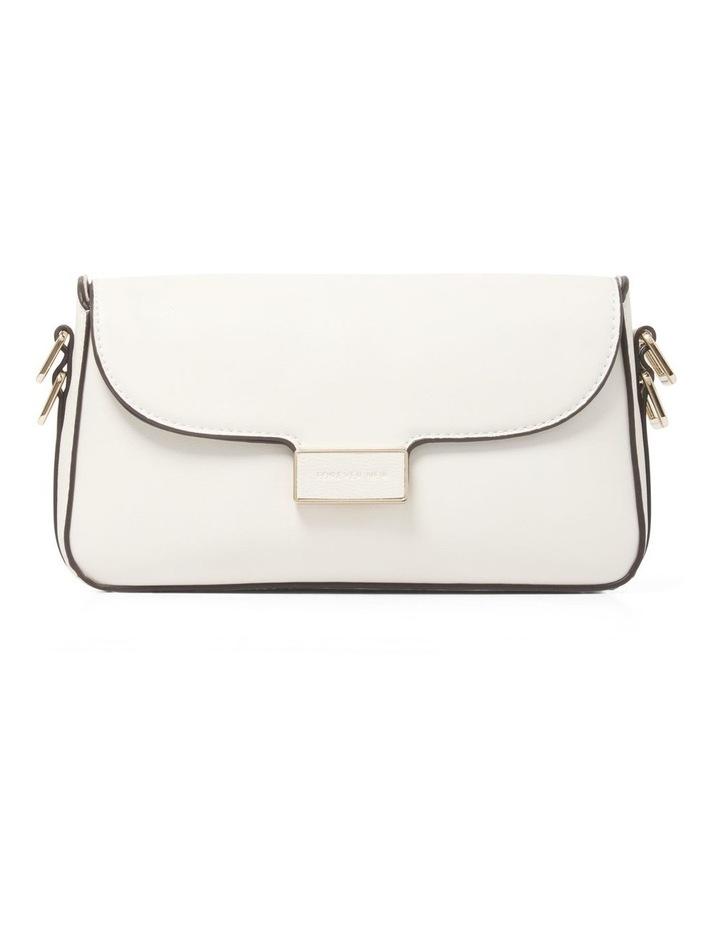 Bianca PU Filled Lock Baguette Bag image 1