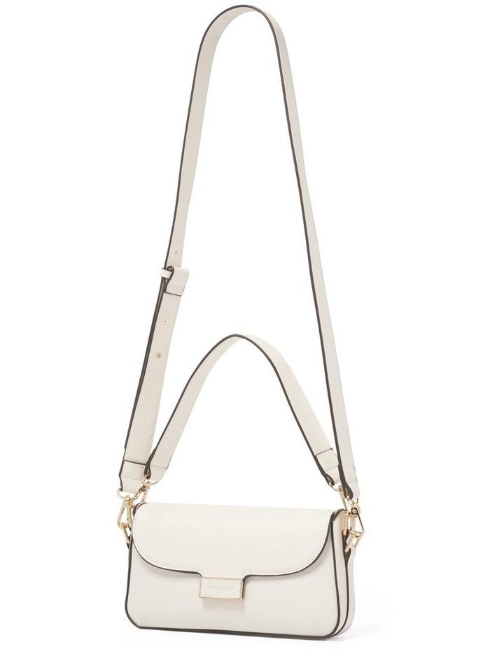 Bianca PU Filled Lock Baguette Bag image 2