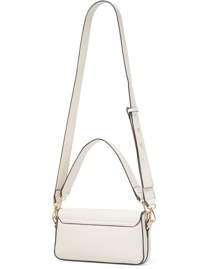 Bianca PU Filled Lock Baguette Bag image 3