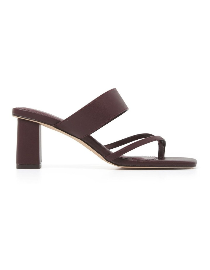 Kiera Crossover Toe Loop Block Heel image 1