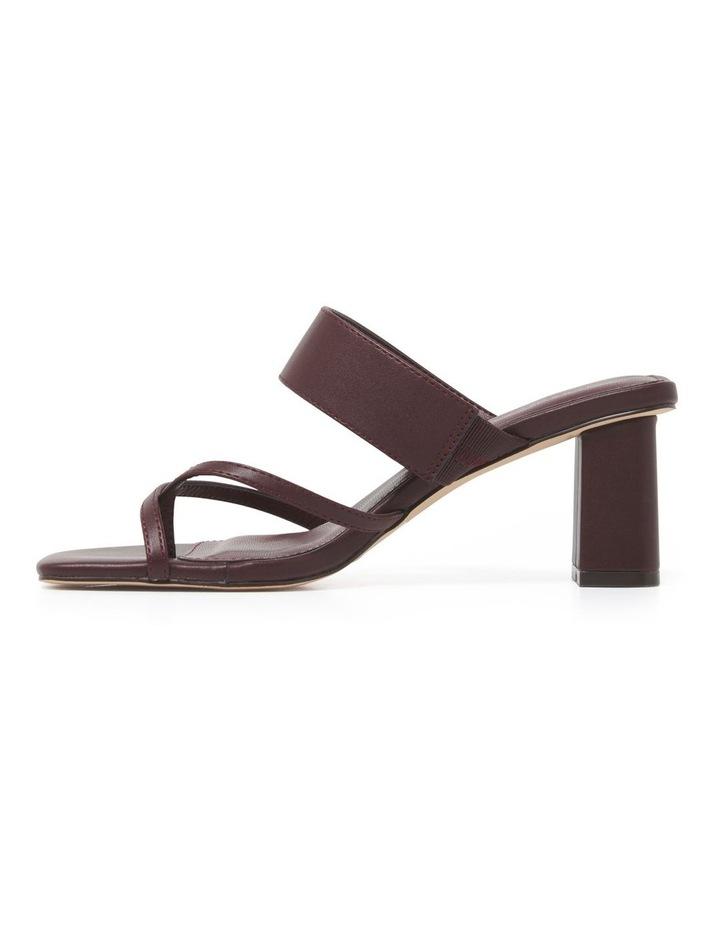Kiera Crossover Toe Loop Block Heel image 3