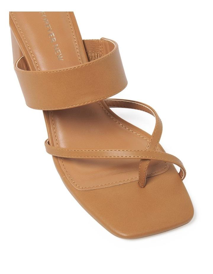 Kiera Crossover Toe Loop Block Heel image 2