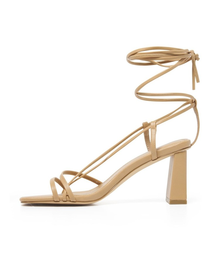 Addison Strappy Ankle Tie Block Heel image 3