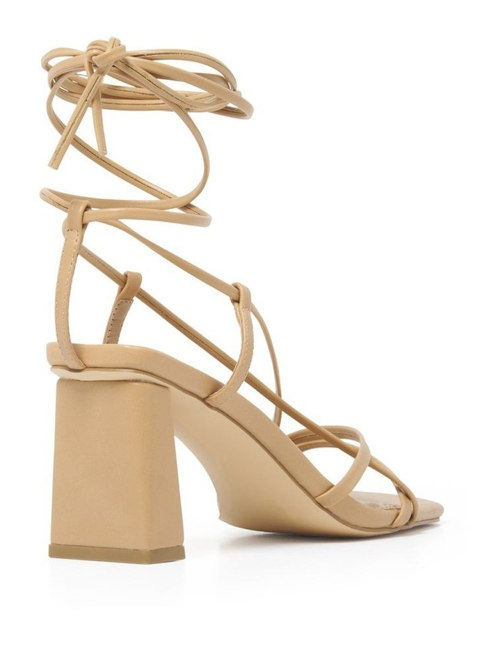 Addison Strappy Ankle Tie Block Heel image 4