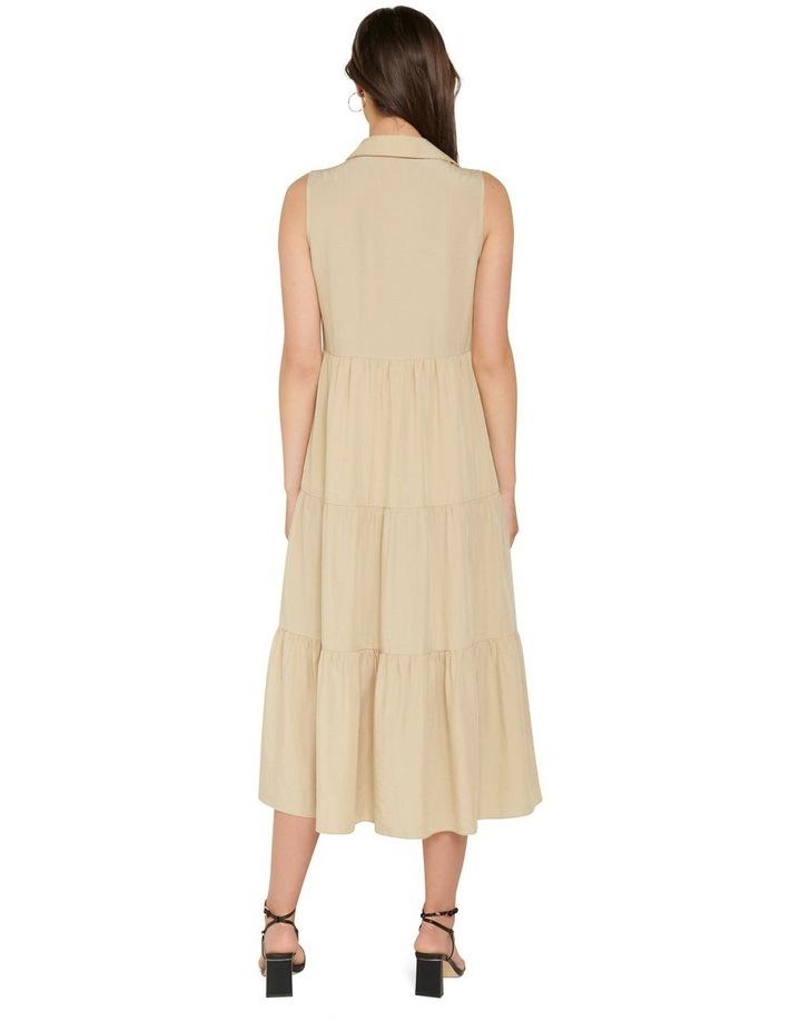 Megan Sleeveless Shirt Maxi Dress image 3