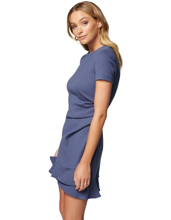Annie Petite Rib Frill Dress image 3