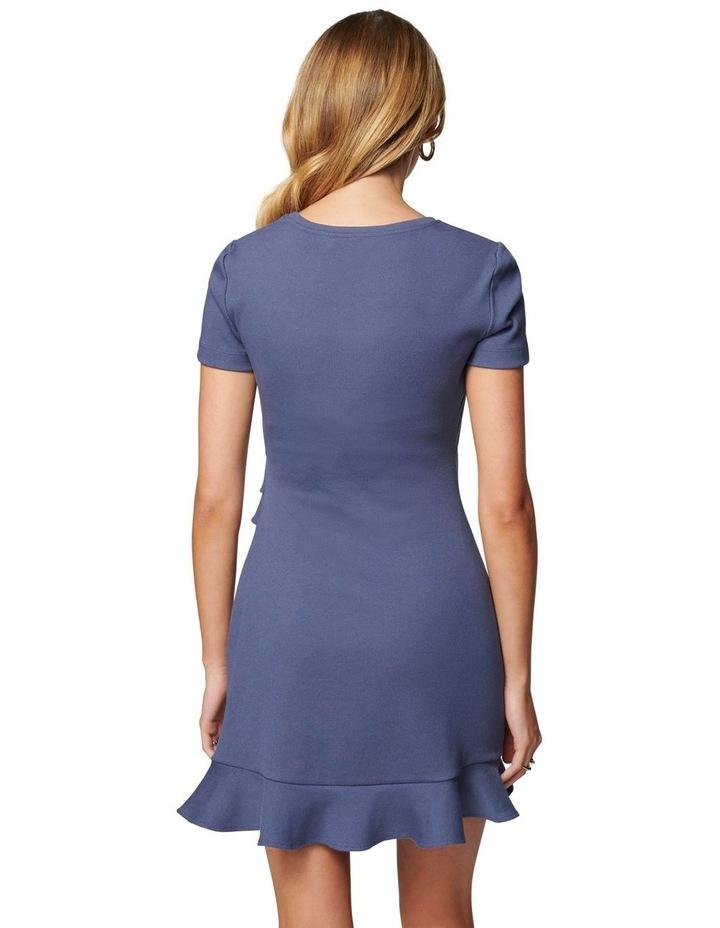 Annie Petite Rib Frill Dress image 4
