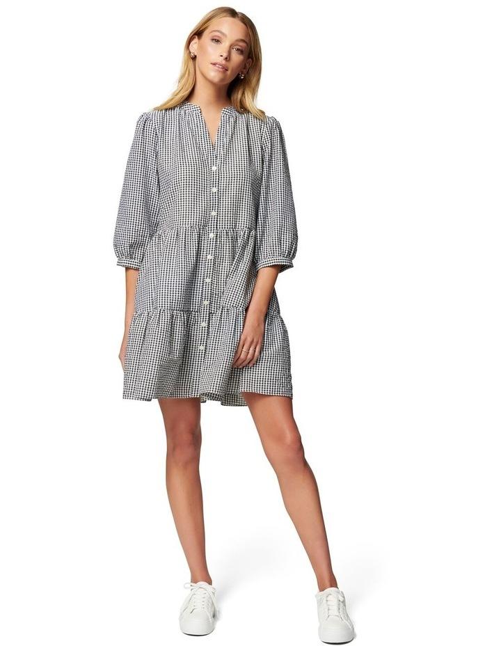 Gina Gingham Smock Dress image 5