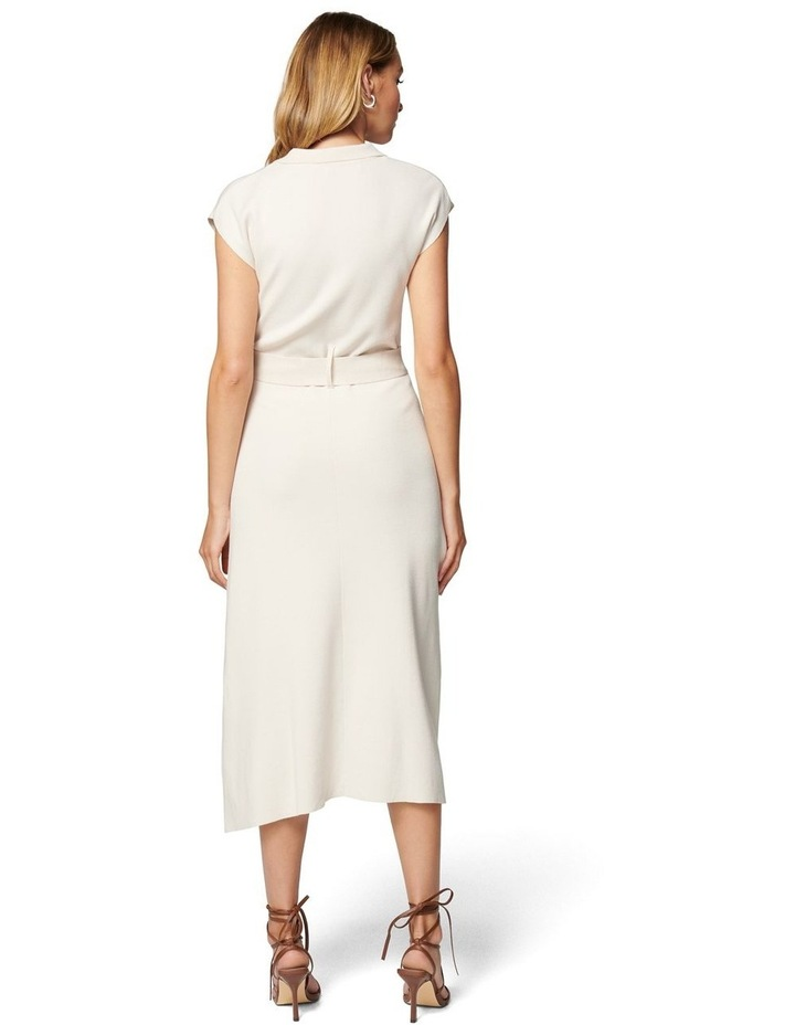 Mari Collar Fit And Flare Knit Dress image 4