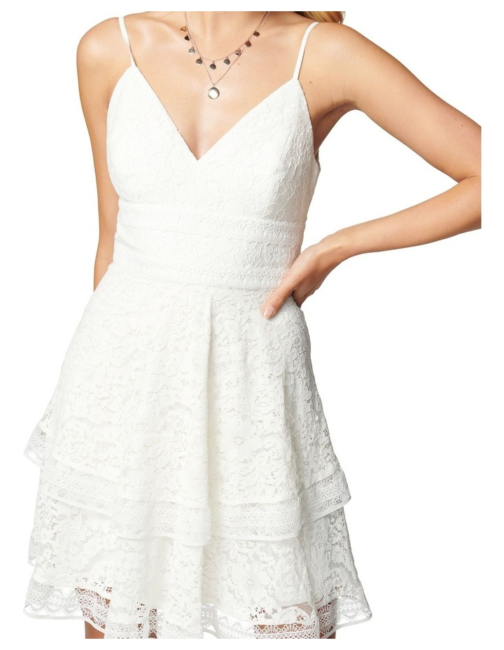 Isabel Tiered Lace Mini Dress image 2