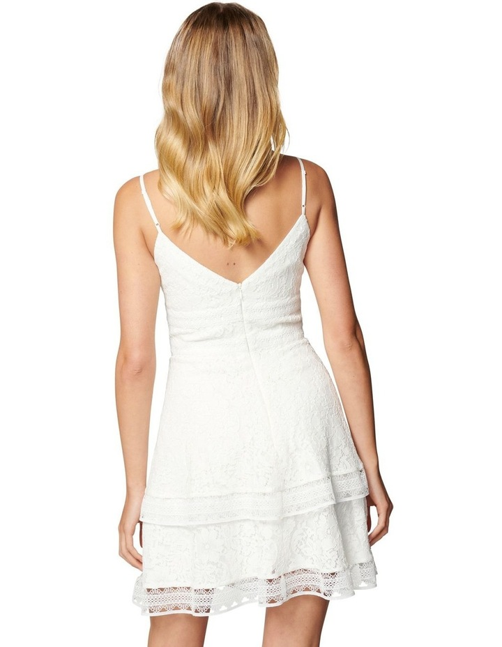 Isabel Tiered Lace Mini Dress image 4