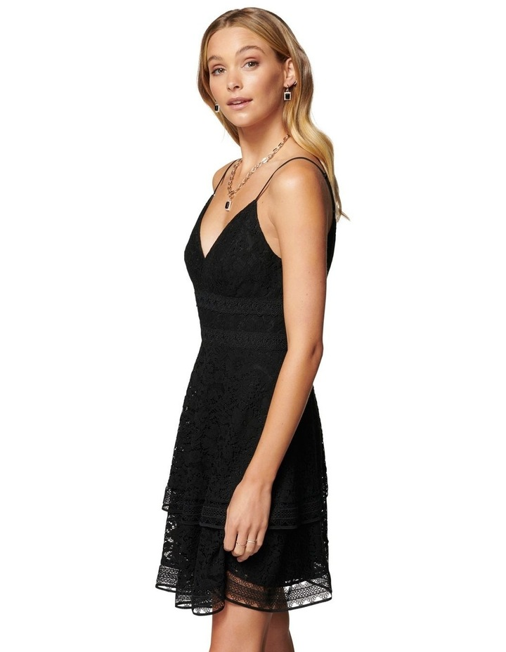 Isabel Tiered Lace Mini Dress image 3