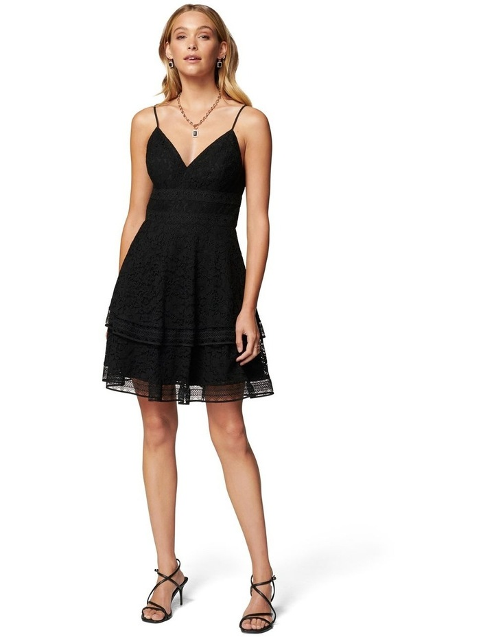 Isabel Tiered Lace Mini Dress image 5