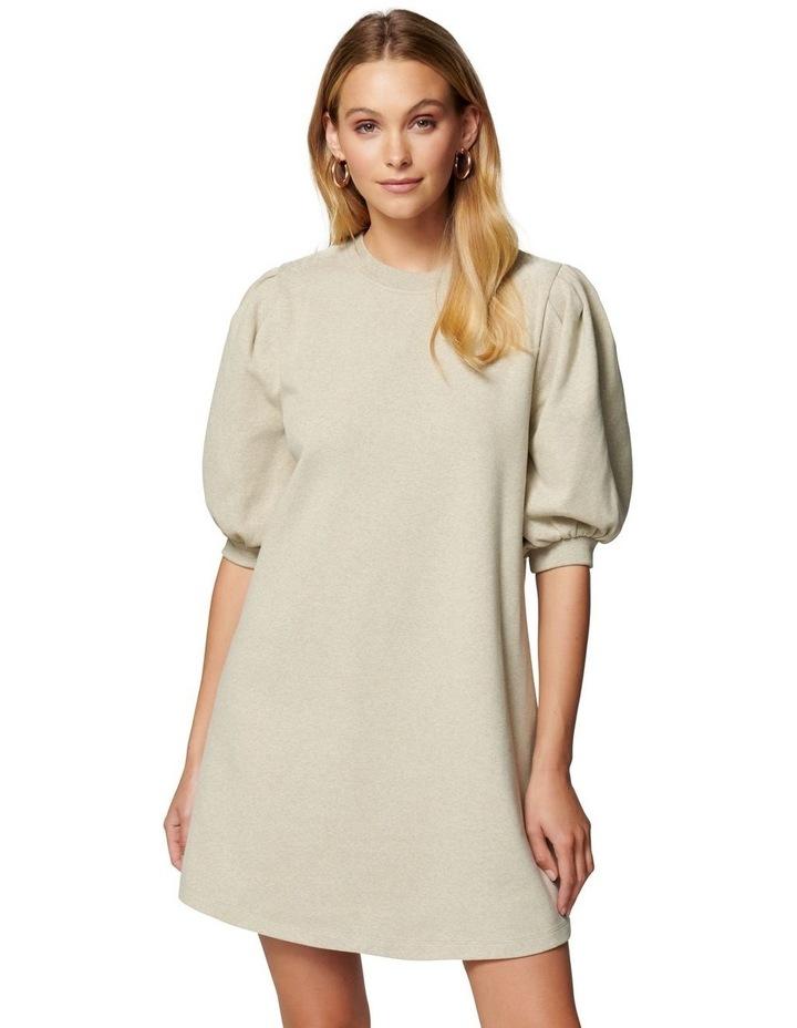 Lena Puff Sleeve Sweat Dress image 1