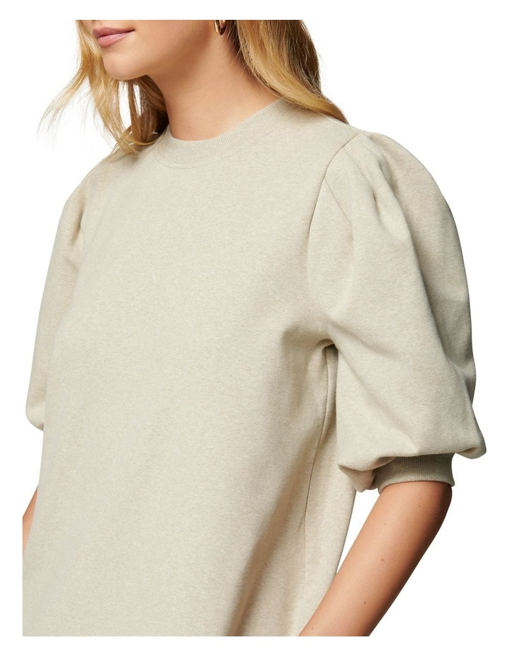 Lena Puff Sleeve Sweat Dress image 2