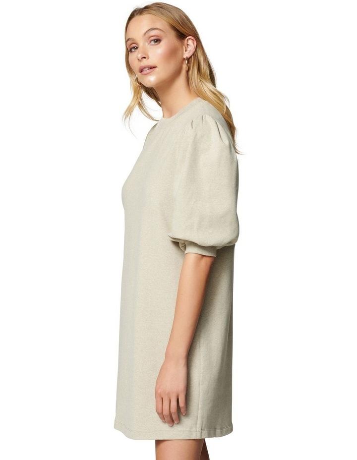 Lena Puff Sleeve Sweat Dress image 3