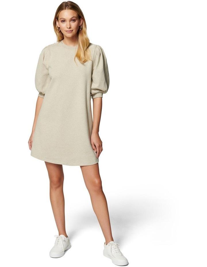 Lena Puff Sleeve Sweat Dress image 4