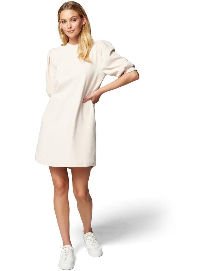 Lena Puff Sleeve Sweat Dress image 5