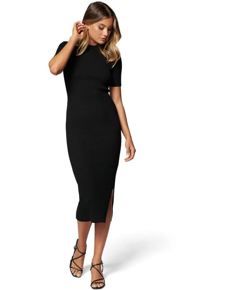 Yazmin Rib Tee Midi Knit Dress image 1