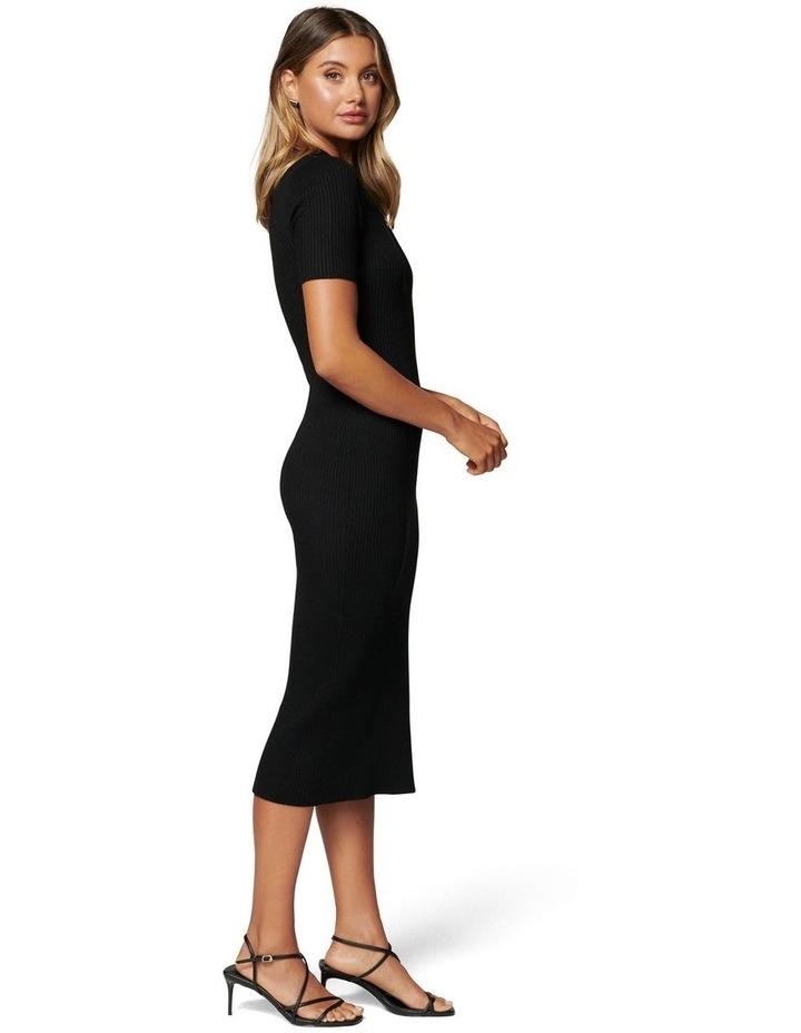 Yazmin Rib Tee Midi Knit Dress image 3