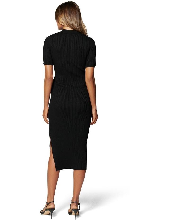 Yazmin Rib Tee Midi Knit Dress image 4