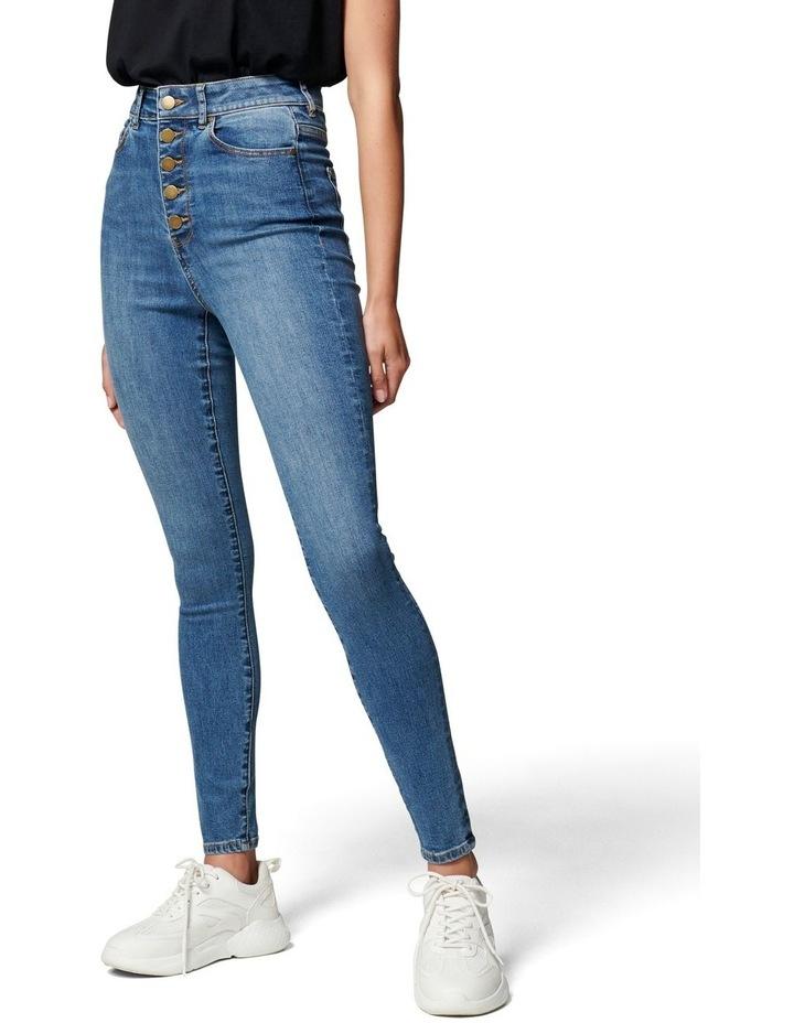Heidi High Rise Ankle Grazer Jean image 1