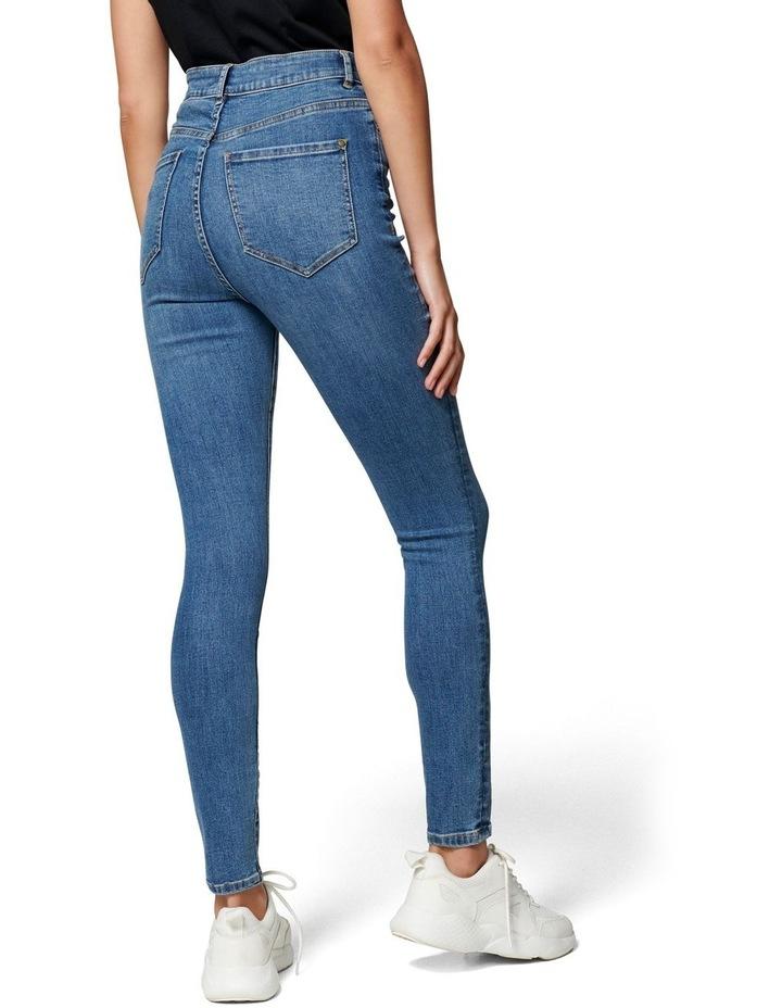 Heidi High Rise Ankle Grazer Jean image 4