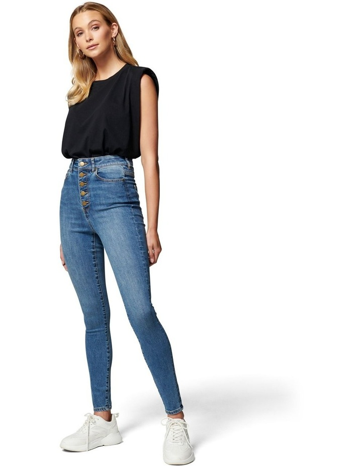Heidi High Rise Ankle Grazer Jean image 5