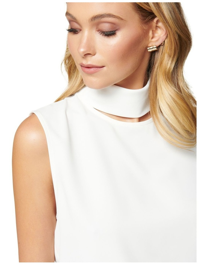Rylee Cut Out Neck Top image 2