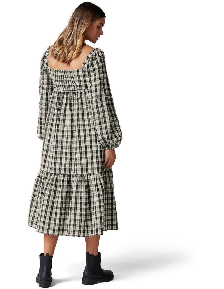 Clover Check Midi Dress image 4