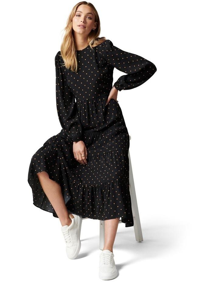 Betty Long Sleeve Midi Dress image 1