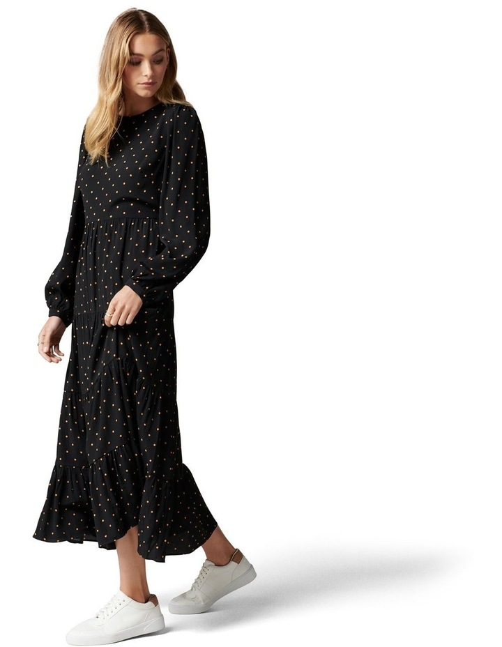 Betty Long Sleeve Midi Dress image 2