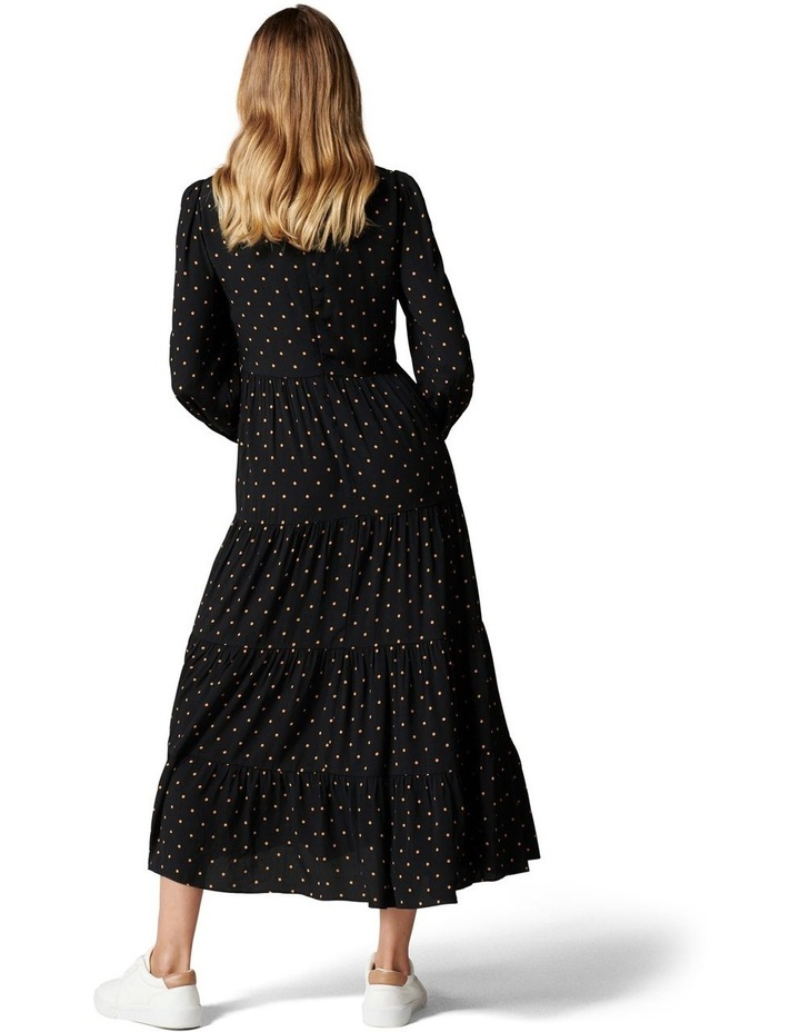 Betty Long Sleeve Midi Dress image 3