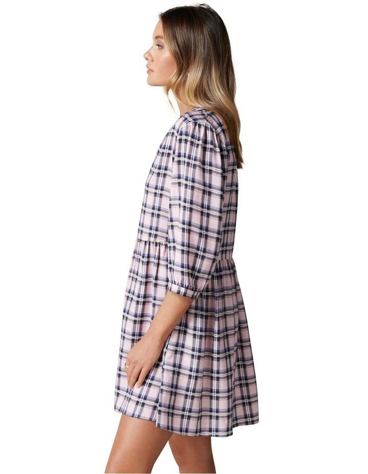 Emma Check Smock Dress image 3