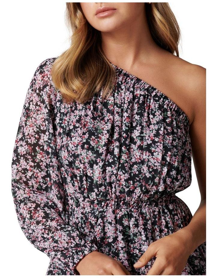 Priya Ruffle One Shoulder Mini Dress image 2