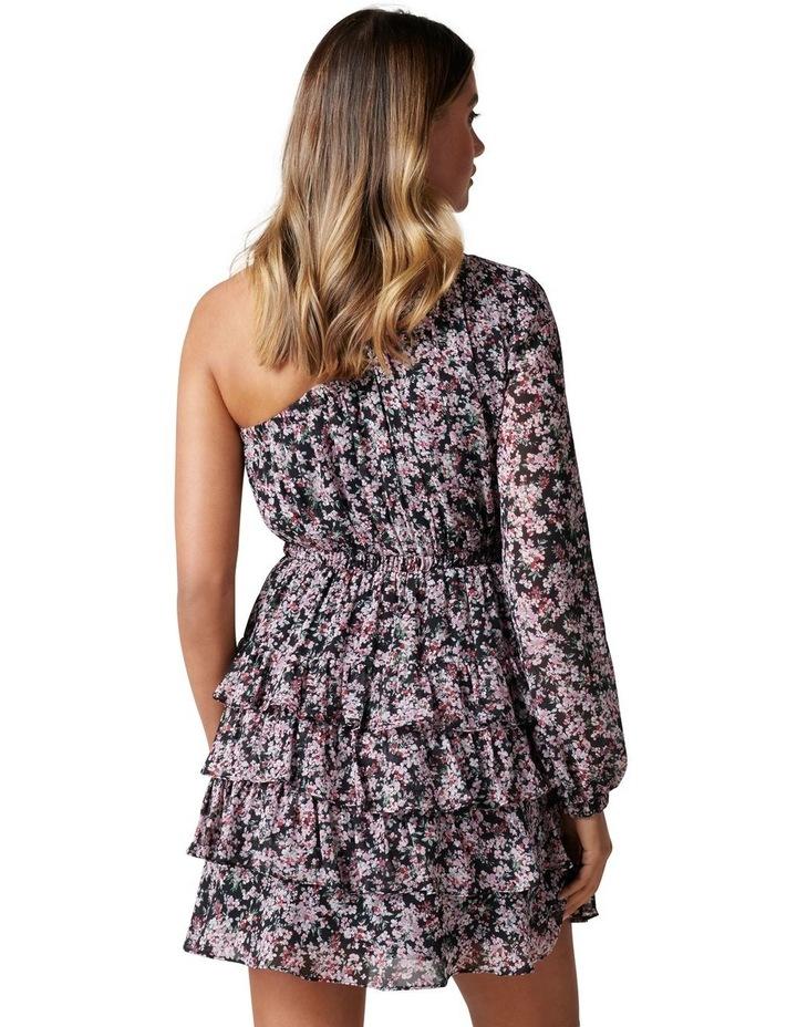 Priya Ruffle One Shoulder Mini Dress image 4