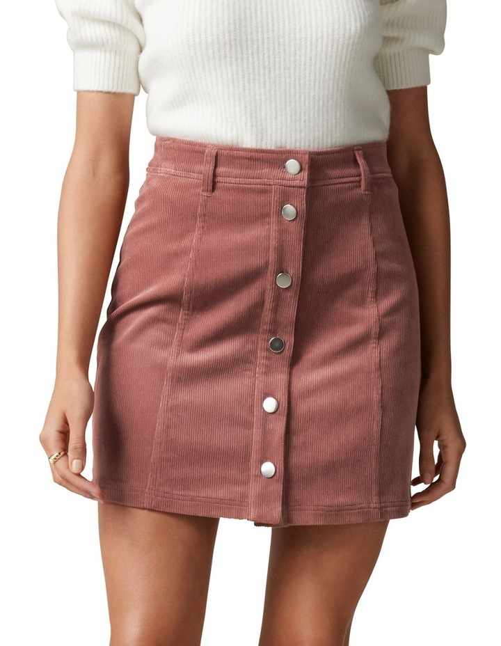 Aurora Petite Cord Mini Skirt image 1