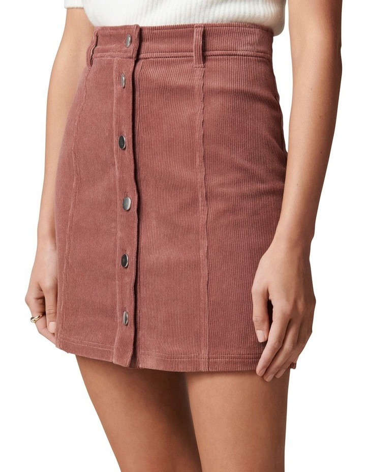 Aurora Petite Cord Mini Skirt image 3